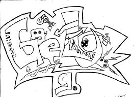 imagenes para dibujar letras graffitis dibujos de graffiti para imprimir y colorear colorear imágenes