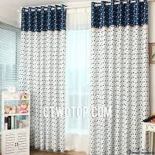 White And Blue Curtains Best Discount Modern Bedroom White And Blue Curtains