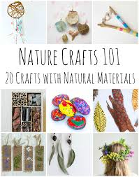 nature crafts 101 20 stunning crafts using items found in nature