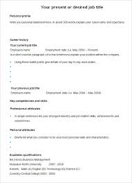 cv templates u2013 61 free samples examples format download free