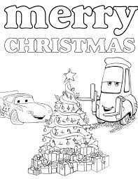 disneys cars christmas coloring u0026 coloring pages