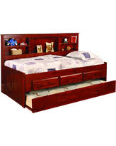 christmas gift deals on beds with bookcase headboards