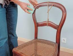 dossier de chaise comment bien recoller un dossier de chaise