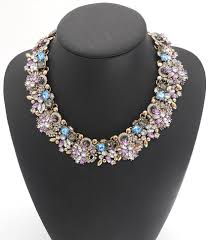 purple fashion jewelry necklace images Ppg amp pgg fashion jewelry women luxury rhinestone collar purple jpg