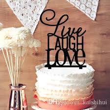 monogram cake toppers for weddings 2018 live laugh monogram cake topper wedding cake topper for