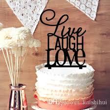 monogram cake toppers 2018 live laugh monogram cake topper wedding cake topper for