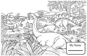 Dinosaurs Cartoon Diplodocus Dinosaur Coloring Pages Dinosaur Coloring Page