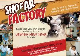 shofar factory shofar factory 2007 sep 9 chabad center of niagara