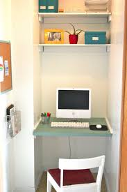 Home Desk Ideas by Home Office Contemporary Design Desk Idea Small Space Decorating
