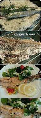 cuisiner truite enti鑽e recette de truite entière en croûte de sel thym estragon et salade