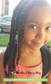 hair dos for biracial children braids beads tutorial a protective style by the mixed mama