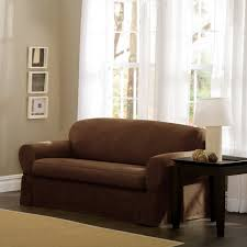 furniture brown leather cheap loveseats with wooden floor and