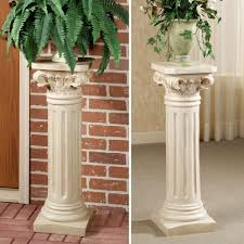 plant stand wood pillar plant standcement standsceramic