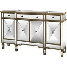 joss and main buffet ls elk lighting ls dimond home mirrored console table with clear glass