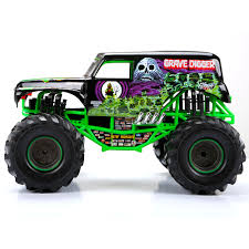 monster trucks grave digger new bright 1 10 radio control full function 9 6v monster jam grave