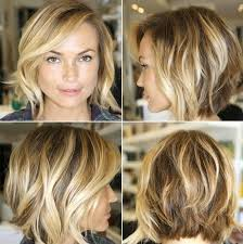 shoulder length layered choppy hairstyle layered messy bob