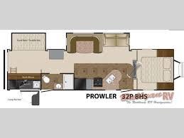 prowler camper floor plans new 2012 heartland prowler 32p bhs travel trailer at bullyan rv