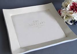 guest book platters large custom wedding signature guestbook platter or heirloom wedding g