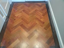 Herringbone Laminate Flooring Custom Herringbone Pattern Hardwood Flooring In Ma Central Mass