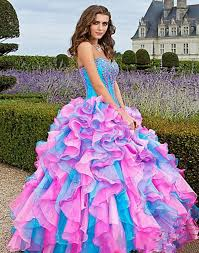 wedding and prom dresses mixed color organza quinceanera dresses prom dress pageant wedding
