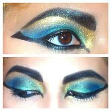 cleopatra egyptian inspired eyes by klrainbow color guard