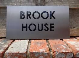 bespoke house names