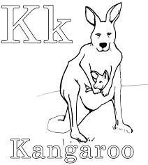 nos jeux de coloriage kangourou à imprimer gratuit page 2 of 3