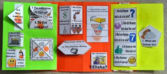 bible fun for kids elijah u0026 elisha lapbook