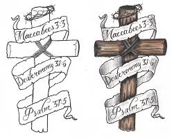 cross with banner tattoo designsnokiaaplicaciones com