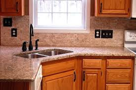 Backsplash Ideas For Kitchens With Granite Countertops Kitchen Countertop Backsplash Ideas Tile Granite Subscribed Me