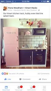 kmart furniture kitchen kmart kitchen hack http smallhousediy category playhouse