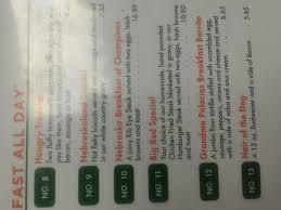 kirk s nebraskaland restaurant menu prices
