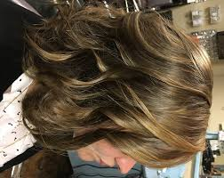 wanded hairstyles wanded curls with balayage highlights bella capelli salon