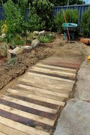 best 25 pallet walkway ideas on pinterest wood pallet walkway crumbs wooden pallet walkway footpath