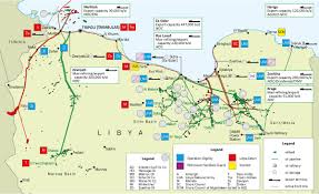 Map Of Libya Libya Large Scale Attack Targeting Tripoli Mitiga Airport Also