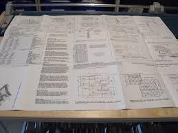 Construction Plans Online by R14 5170 Bi Level Deck Vintage Construction Plan