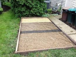 Build A Sandpit In Your Backyard How To Build An Outdoor Dog Potty Area