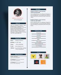 Best Ui Resume by Clean Ui Designer Resume Template Free Psd At Free Simple Resume