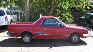 old subaru brat aussie old parked cars 1992 subaru gl brumby 1800 4wd ute