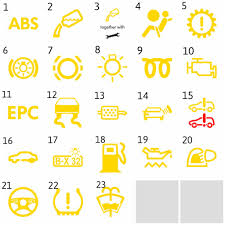 volkswagen yellow yellow dashboard warning light