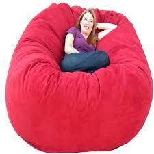 Big Joe Kids Lumin Bean Bag Chair Decorating Comfortable Pink Bean Bag Chair For Elegant Chair Design