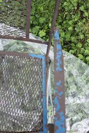 How To Paint Wrought Iron Patio Furniture by Painted Wrought Iron Patio Furniture 2 Bees In A Pod