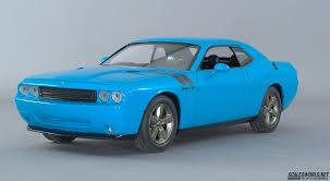 Dodge Challenger 2009 - 2009 dodge challenger scaledworld