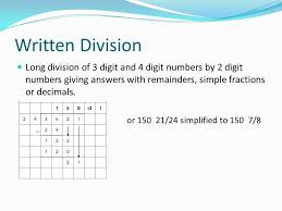 grade 4 maths resources 1 7 1 division of 2 digit numbers u0026 3