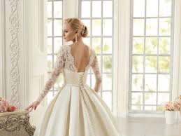 wholesale elegant simple long sleeve wedding dresses with lace