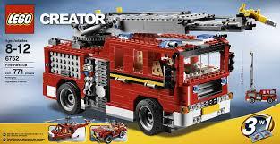 lego mini cooper instructions amazon com lego creator fire rescue 6752 toys u0026 games