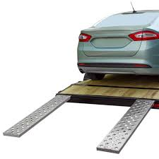 car trailer loading ramps with ez traction discount ramps