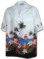 Tropical Themed Clothes - matching hawaiian for couple