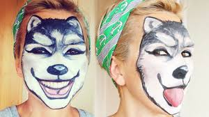 wolf makeup face painting kandee johnson youtube