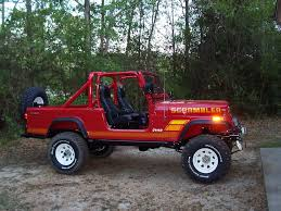 flame red jeep factory colors on stock or restored jeeps